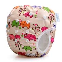 Storeofbaby Baby Swim Diaper Reusable Adjustable Swimmers Cloth Cover
