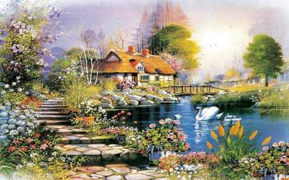 Jigsaw Puzzle 1000 Piece for Adult and Kids Vintage Paintings Jigsaw Puzzle Intellective Educational Toy 27 x 20 Inches