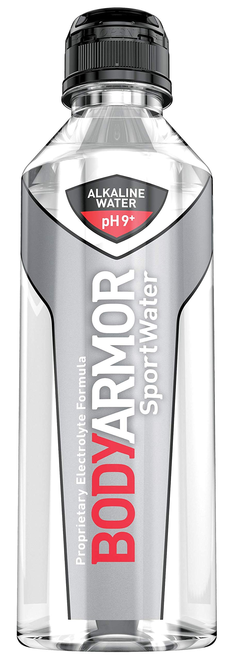 BODYARMOR SportWater Alkaline Water, Superior Hydration, High Alkaline Water pH 9+, Electrolytes, Perfect for your Active Lifestyle, 700mL Sport Cap (Pack of 24)