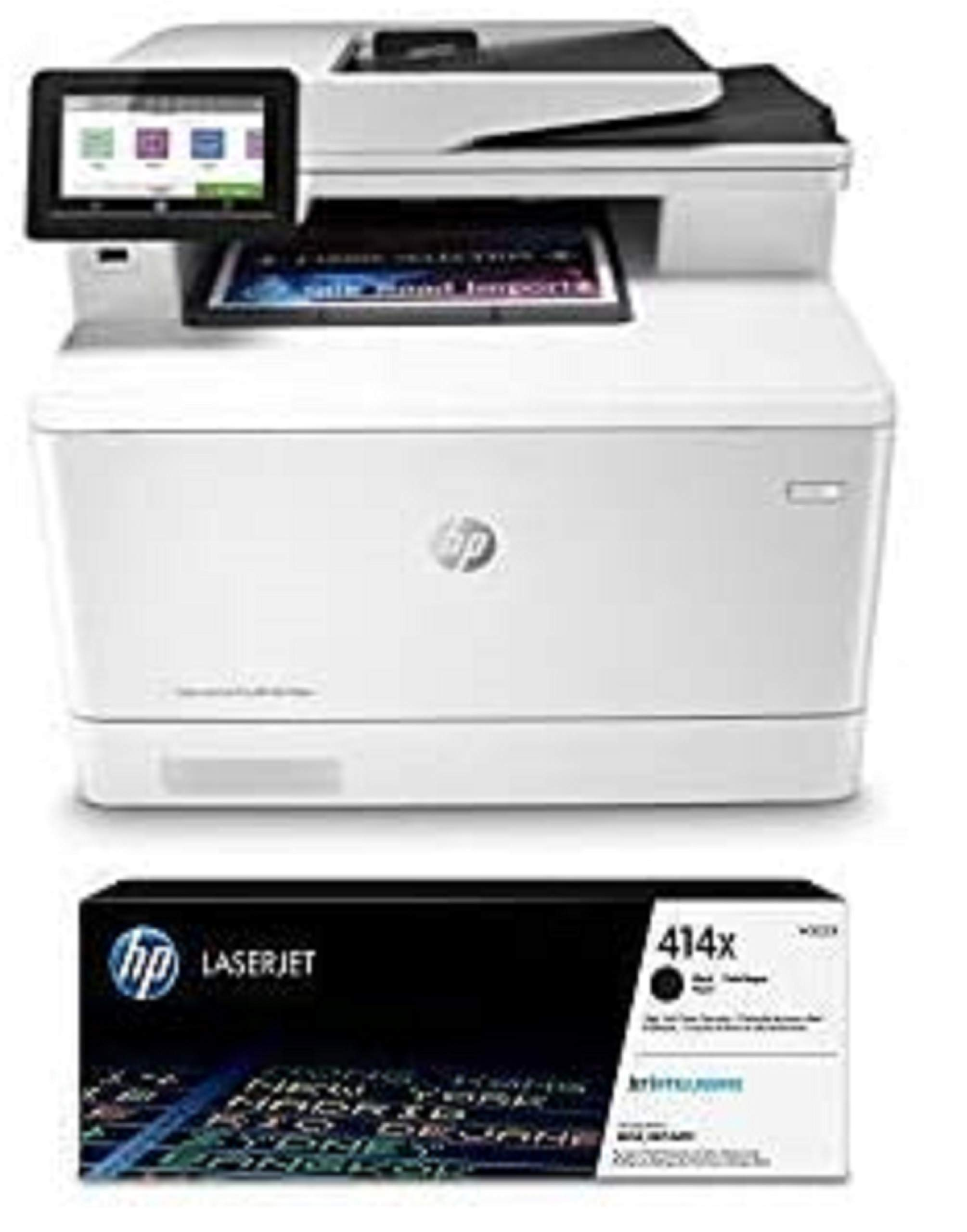 HP Color Laserjet Pro Multifunction M479fdw Wireless Laser Printer (W1A80A) with High Yield Black Toner Cartridge