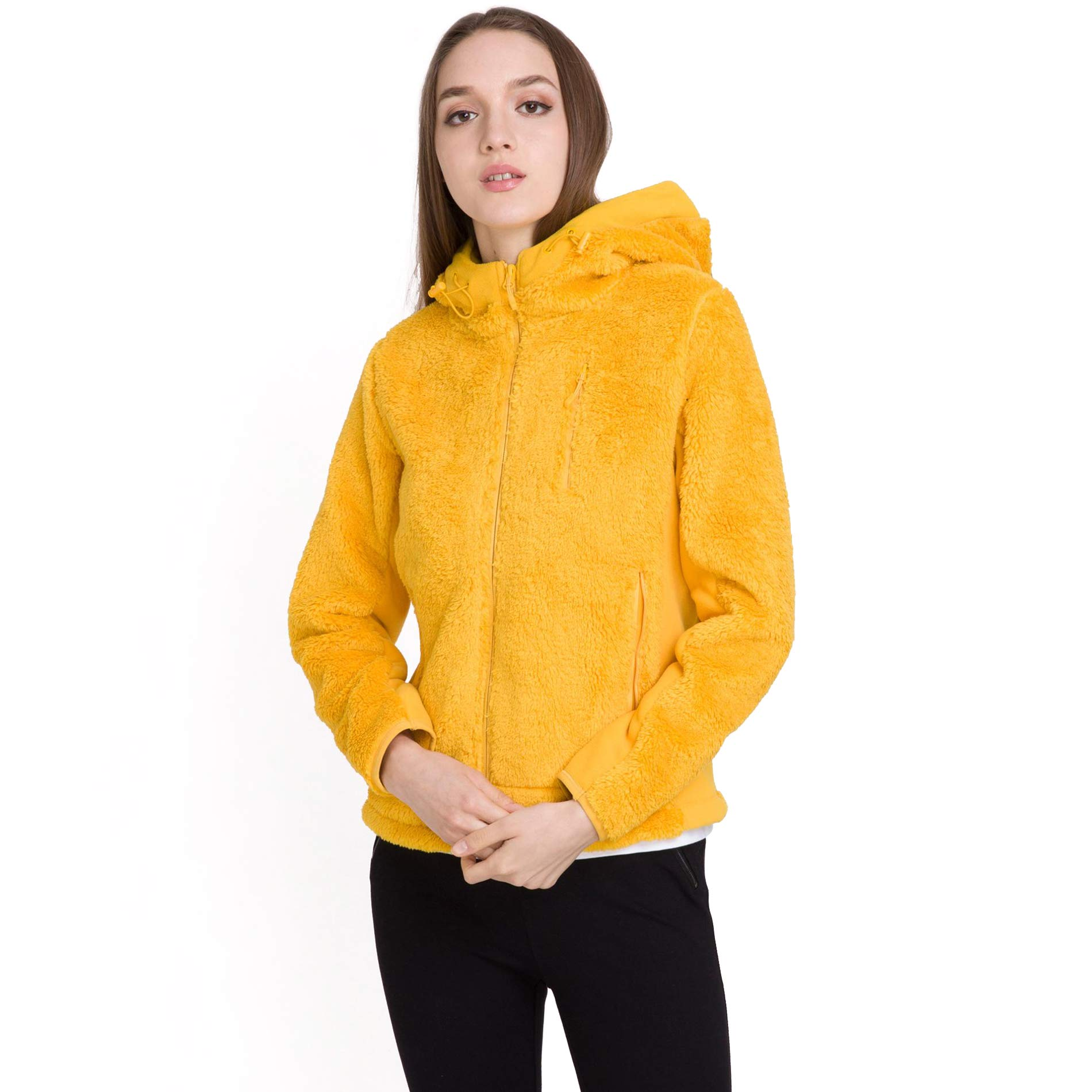 bossini Womens Jacket Multi-Purpose Windbreaker Multi-Functional Jacket Hoodie Jacket