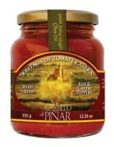 Castillo de Piñar 12.35 oz Fritada de Tomate Casera - Mild Kick Sauce. NON-GMO. All Natural & Farm Fresh Vegetables