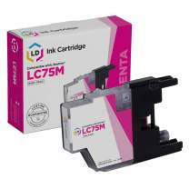 LD Compatible Ink Cartridge Replacement for Brother LC75M High Yield (Magenta)