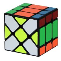 Cubelelo Fisher Speed Cube Puzzle Magic Cube Puzzle Toy