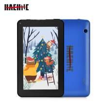 Haehne 7 Inch Tablet PC - Google Android 9.0 Pie, Quad Core, 1G RAM 16GB ROM, 1024 x 600 IPS HD Display, 2.0MP 0.3MP Dual Camera, 2800mAh, WiFi, Bluetooth (Blue)