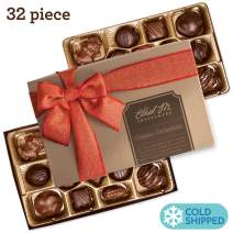 Ethel M Chocolates Red Ribbon Classic Collection, 32-Piece Assortment