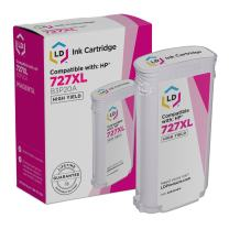 LD Remanufactured Ink Cartridge Replacement for HP 727XL B3P20A High Yield (Magenta)