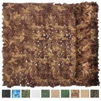 iunio Camo Netting, Camouflage Net, Bulk Roll, Mesh, Cover, Blind for Hunting, Decoration, Sun Shade, Party, Camping, Outdoor