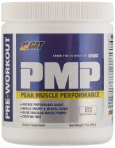 GAT PMP (Peak Muscle Performance), Next Generation Pre Workout Powder for Intense Performance Gains, Berry Blast, 30 Servings