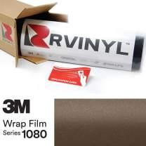 3M 1080 M209 Matte Brown Metallic 5ft x 30ft W/Application Card Vinyl Vehicle Car Wrap Film Sheet Roll