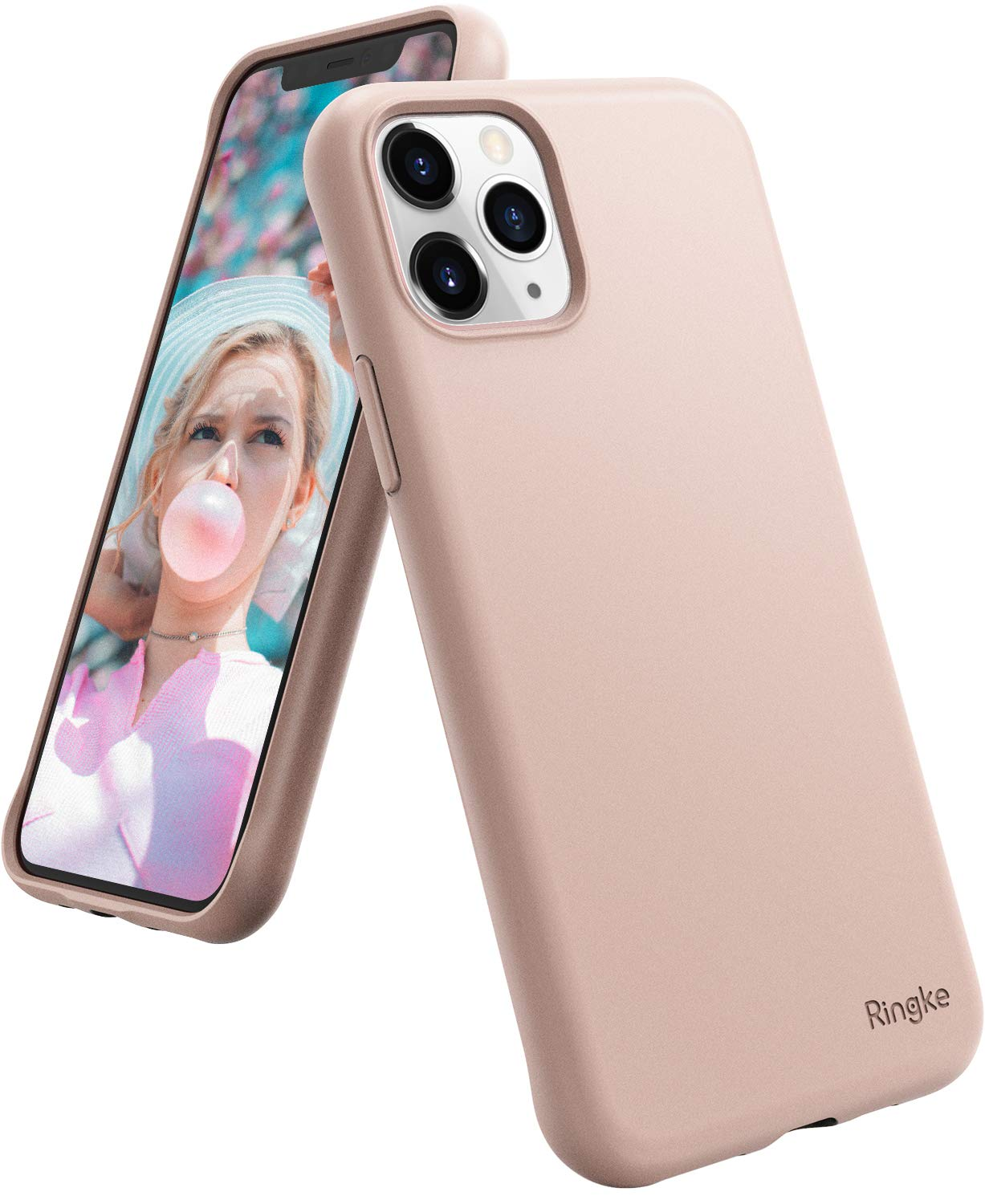 Ringke Air-S Designed for iPhone 11 Pro Case (2019) - Pink Sand