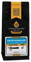 Christopher Bean Coffee Flavored Ground Coffee, Winter Wonderland, 12 Ounce
