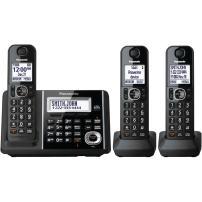 Panasonic KX-TGF343B DECT 3-Handset Landline Telephone