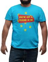 LeRage You've Got a Friend in Me Story Time Movie Tee Shirt for Toy Lovers T-Shirt Gift Men's