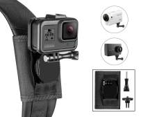 Taisioner Backpack Strap Knapsack Shoulder Mount for Hero 3/4 / 5/6 / 7/8 Black White Silver Max Other Action Camera