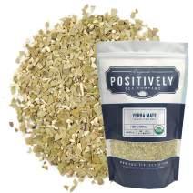 Positively Tea Company, Organic Yerba Mate Tea, Loose Leaf, 1 Pound Bag