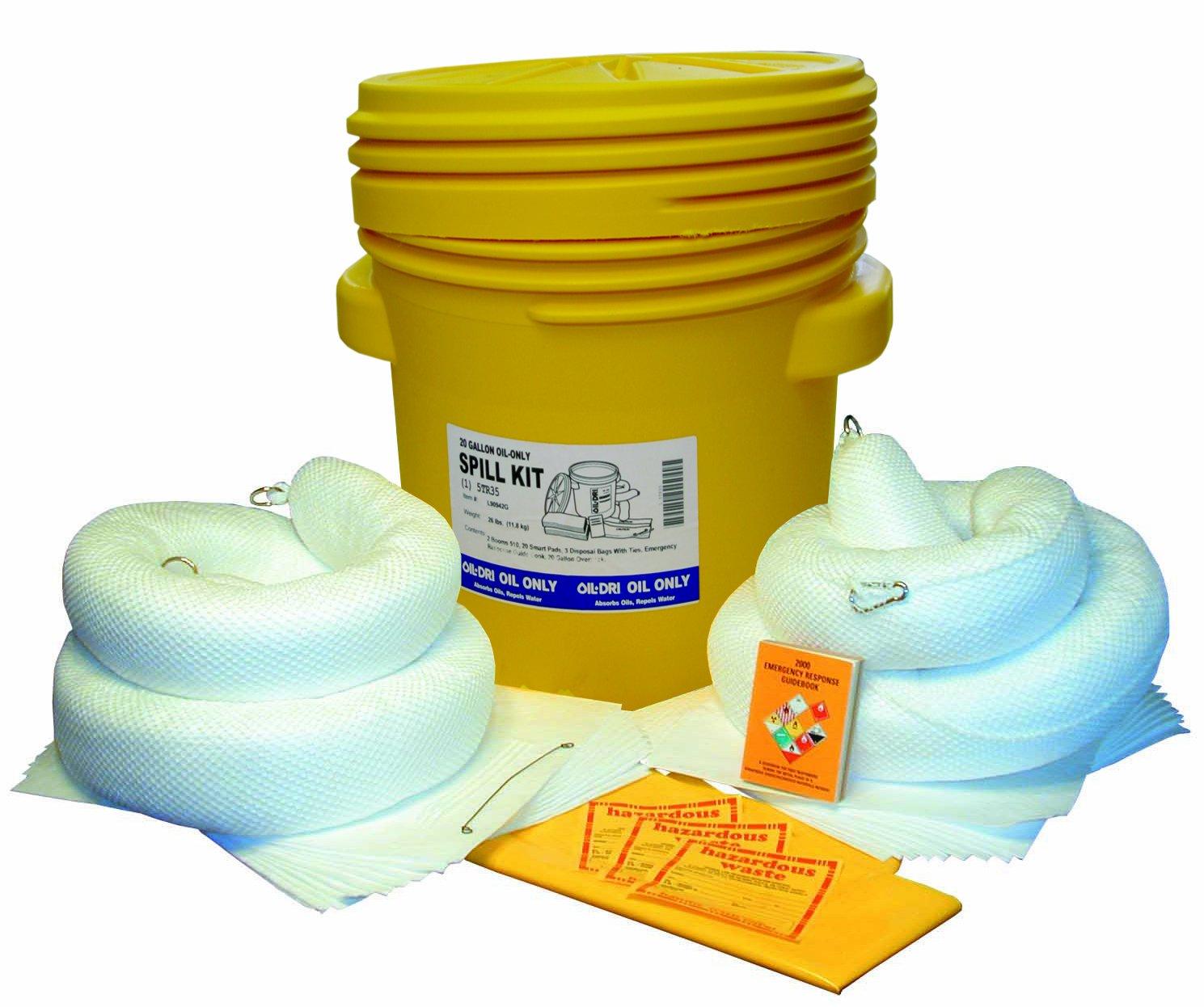 Oil-Dri L90943 95 gallon Oil-Only Spill Kit