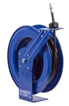 """Coxreels MP-N-450 Heavy Duty Spring Rewind Hose Reel for air/Water/Oil: 1/2"""" I.D, 50' Hose, 2500 PSI"""