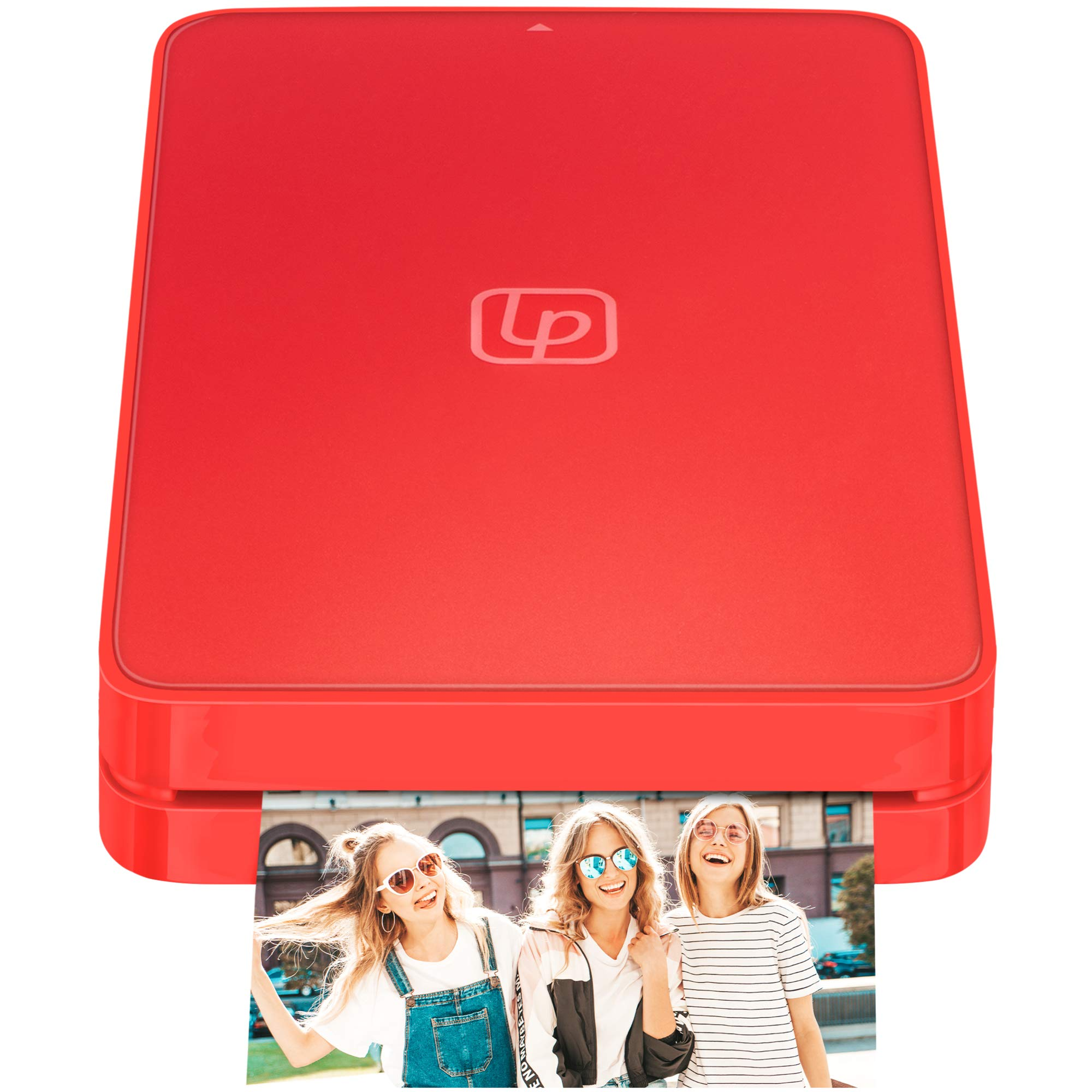 Lifeprint 2x3 Portable Photo and Video Printer for iPhone and Android. Make Your Photos Come to Life w/Augmented Reality - Red