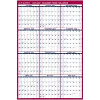 "Academic Erasable Calendar 2020-2021, At-A-Glance Wall Calendar, 32"" x 48"", Jumbo, Dry Erase, Reversible, Vertical/Horizontal (PM36AP28)"