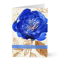 Hallmark Business Sympathy Card for Employees and Customers (Sympathy Rose) (Pack of 25 Greeting Cards)