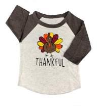 SoRock Youth, Kids, Toddler & Baby Thanksgiving Outfit Turkey T-Shirt