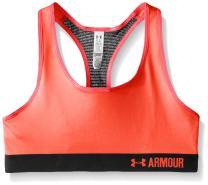 Under Armour Girls Heatgear Armour Solid Sports Bra