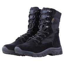 FREE SOLDIER Men's Tactical Boots 8 Inches Lightweight Combat Boots Durable Suede Leather Military Work Boots Desert Boots