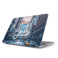 Glitbit Hard Case Cover Compatible with MacBook Pro 13 Inch Case Release 2016-2018, Model: A1989 / A1706 / A1708 with or Without Touch Bar New York City Big USA Times Square America Travel Wanderlust