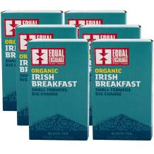 Equal Exchange Organic Irish Breakfast Tea, 20-Count (Pack of 6)