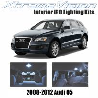 XtremeVision LED for Audi Q5 2008-2012 (12 Pieces) Cool White Premium Interior LED Kit Package + Installation Tool