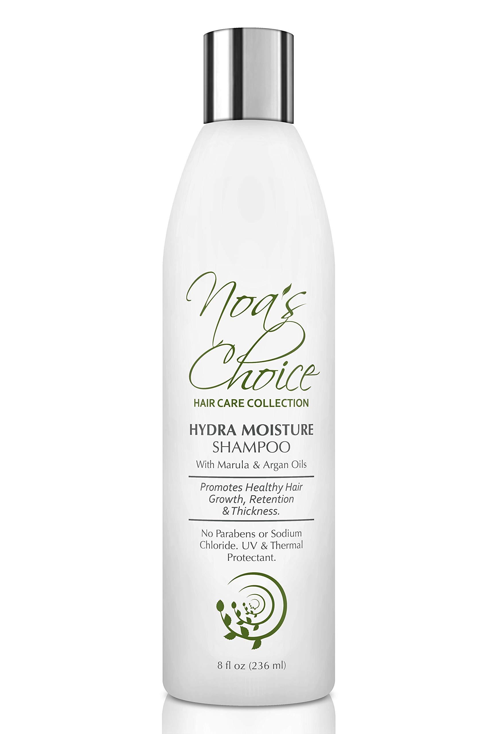 Noa's Choice Hair Growth Hydra Moisture Shampoo with Marula & Argan Oils