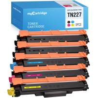 MYCARTRIDGE Compatible Toner Cartridge Replacement for Brother TN227 TN223 TN227bk Use with MFC-L3770CDW HL-L3290CDW HL-L3270CDW HL-L3230CDN MFC-L3750CDW HL-L3210CW MFC-L3710CW 5 Pack