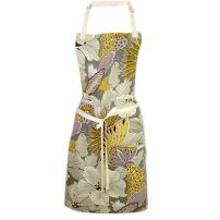 Cate Chestnut Wisteria Blooms 2-in-1 Apron   Full Apron to Half Apron   Handmade USA   Cooking, Crafting, Gift