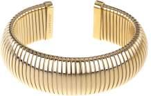 JANIS BY JANIS SAVITT High Polished Plated Brass Single Cobra Bracelet