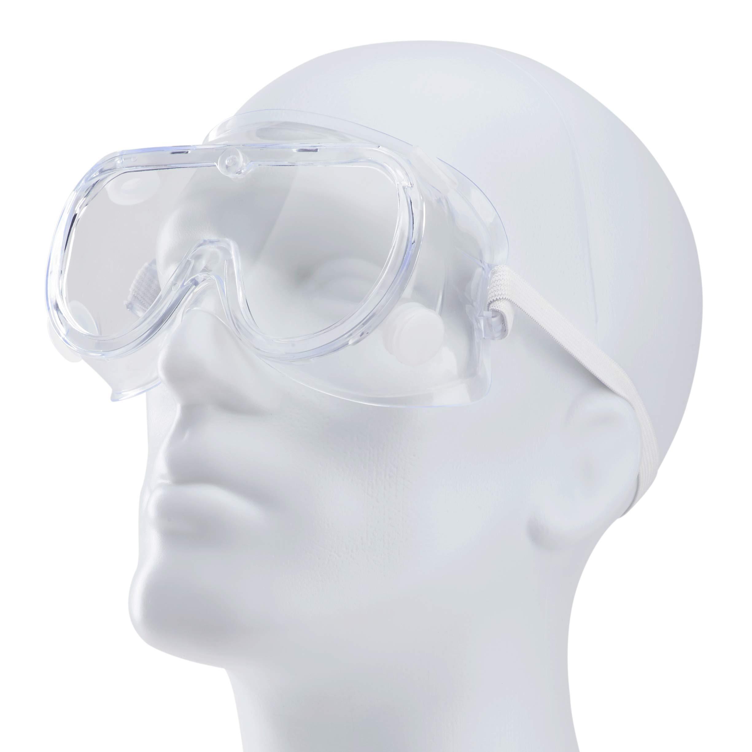 Karat Anti-Fog Safety Goggles (Pack of 15)