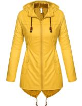 Zeagoo Women's Lightweight Packable Windproof Hoodies Outdoor Coat Rain Jacket