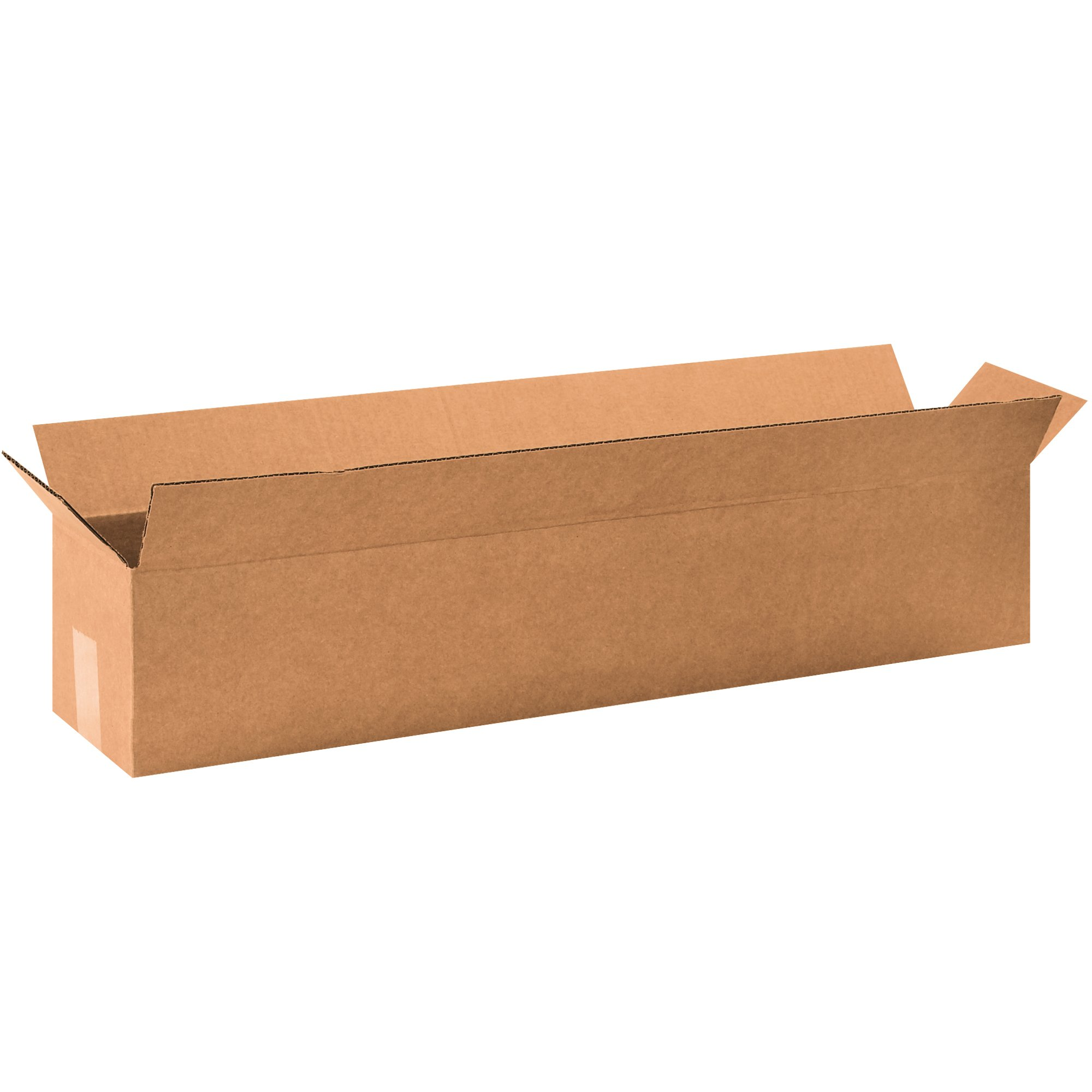 """BOX USA 25 Pack of Long Corrugated Cardboard Boxes, 32"""" L x 6"""" W x 6"""" H, Kraft, Shipping, Packing and Moving"""