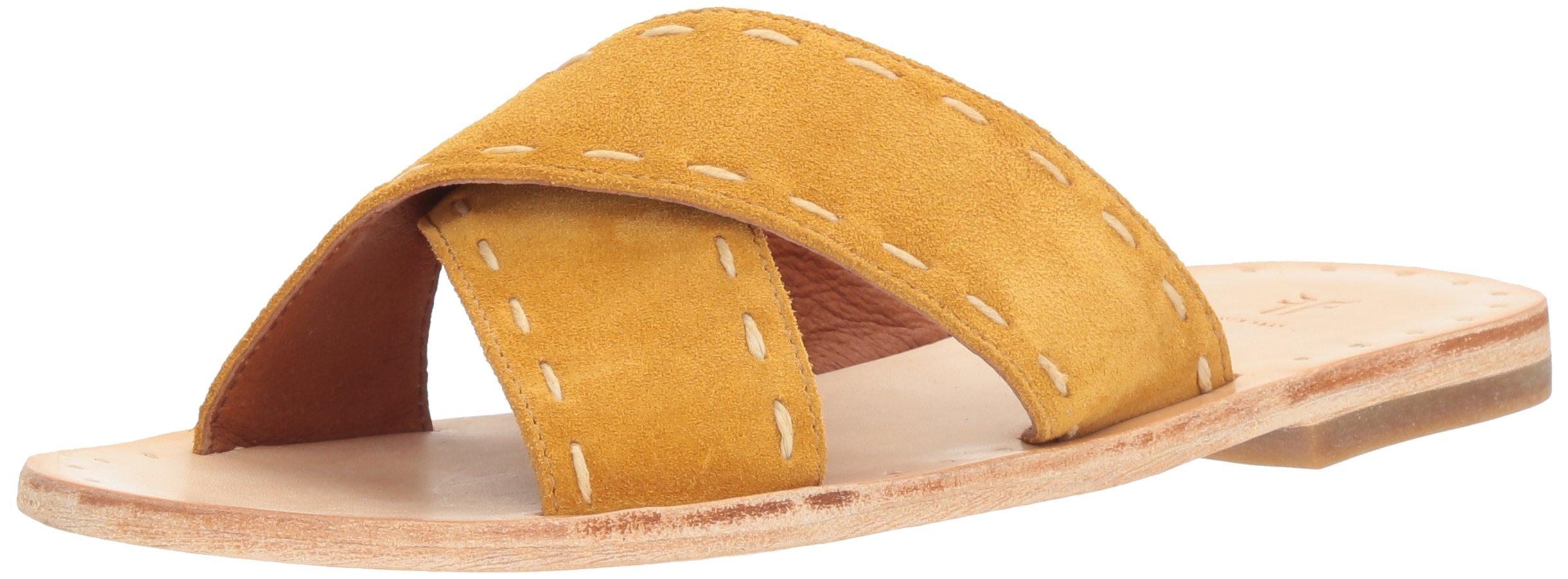 Frye Women's Avery Pickstitch Slide Flat Sandal