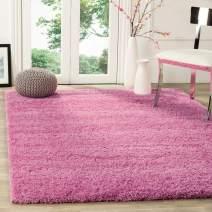 Safavieh California Premium Shag Collection SG151-3232 Area Rug, 4' x 6', Pink