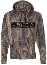 Filthy Anglers Hoodie Sweatshirt w/Built in Neoprene Bottle Holder & Bottle Opener - Multiple Color Options