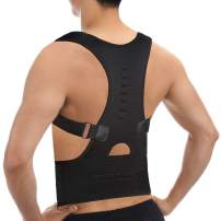 CFR Magnetic Posture Corrector Back Braces Shoulder Waist Lumbar Support Belt Humpback Prevent Body Straighten Slouch Compression Pain Relief