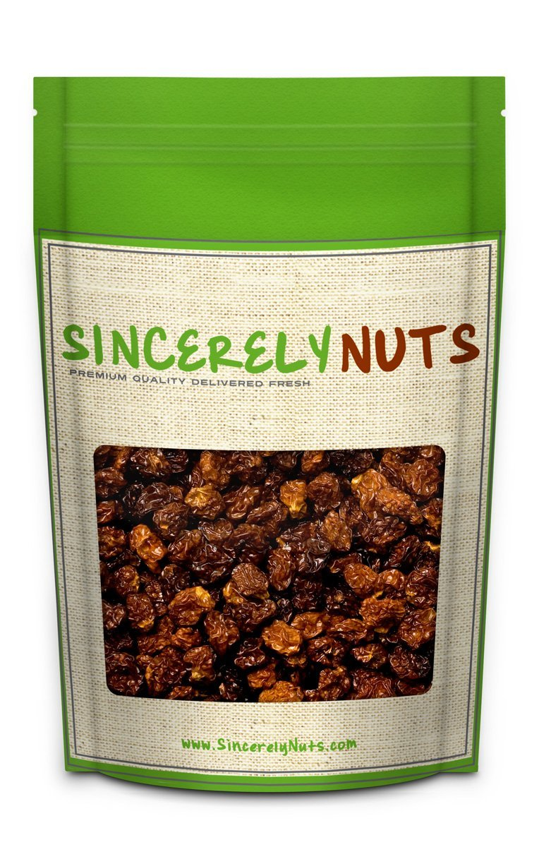 Sincerely Nuts Organic Dried Golden Berries (5 LB) - All Natural - Vegan, Kosher, USDA certified and Gluten-Free Food-Tart, Pleasant Taste - Powerful Antioxidants - Perfect Addition to Salad