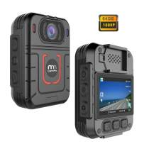 CammPro HD 1296P Police Body Camera, Infrared Night Vision Wearable Camera, Warning Lights and Alarm, Built-in 64GB Memory,Waterproof, Motion Detection, Loop Record for Law Enforcement, Security Guard