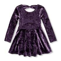 The Children's Place Girls' Toddler Long Sleeve Pleated Dress