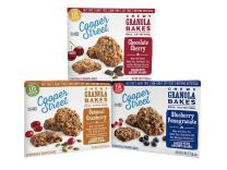 Cooper Street Cookies Chewy Granola Bakes Variety Pack 6 Ounce Boxes (Pack of 3)