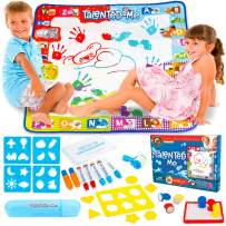 DNA SHIFT Doodle Mat for Toddlers - Ensures Remarkable Mess Free Aqua Magic Mat Results - Reusable Water Drawing Mat - Easy to Use by Boys & Girls Ages 3 4 5 6 7 8+ for Hours of Fun!