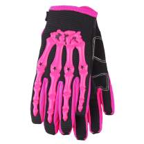 Typhoon Youth Kids Motocross Motorcycle Offroad MX ATV Dirt Bike Gloves - Pink - Small