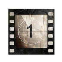Vintage Countdown I by Color Bakery, 35x35-Inch Canvas Wall Art
