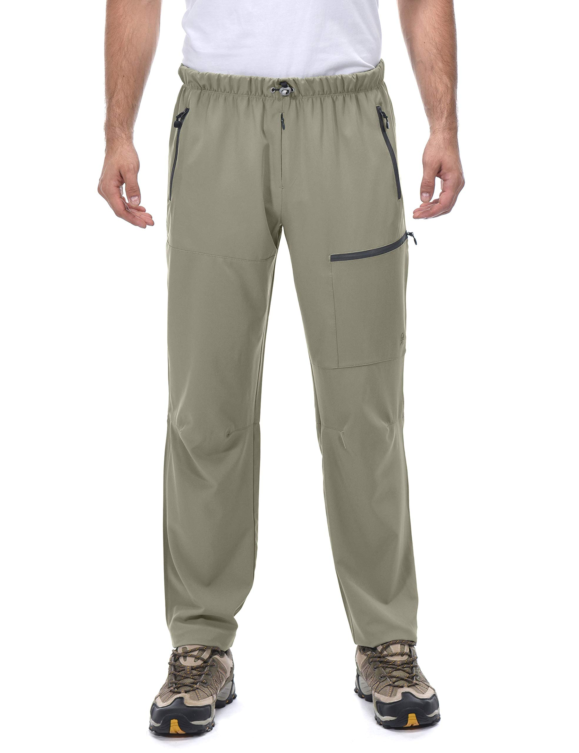 Little Donkey Andy Men's Stretch Hiking Pants, Quick Dry, UPF 50+